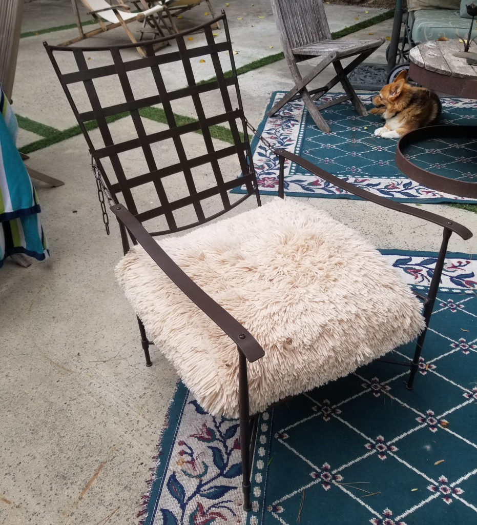 Alpaca Outdoor Chair 3 ADG Lighting Collection