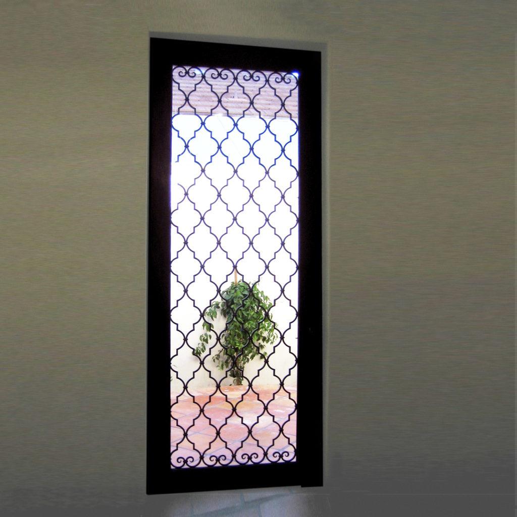 Spanish Home Iron Door ADG Lighting Collection