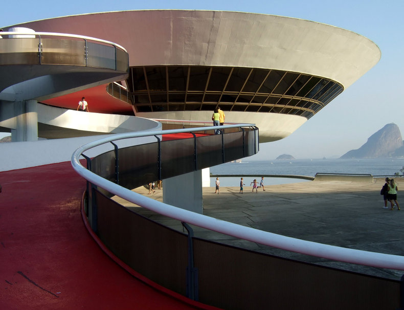 Oscar Niemeyer architect building adg