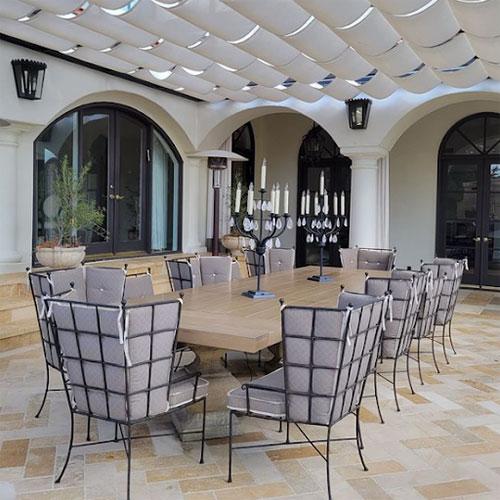 adg jobsite custom lighting patio furnishings
